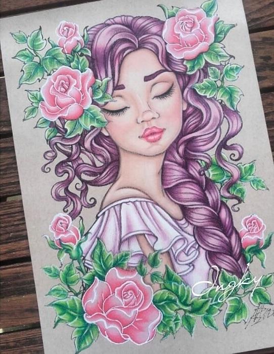 Kleurplaten Voor Volwassenen Tips.Kleuren Voor Volwassenen Tips Van Colorist Ingkys Colors