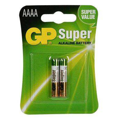 GP Super Alkaline AAAA, blister 2