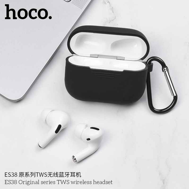 Hoco ES38 Pro Draadloze oordopjes Wit + Wireless Charging Case